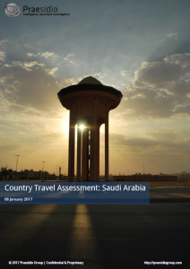 Saudi Arabia Country Assessment Front Image
